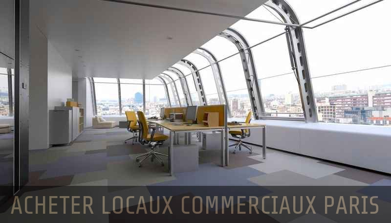 Achat local commercial Paris